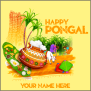 Happy Pongal 2019 With Name