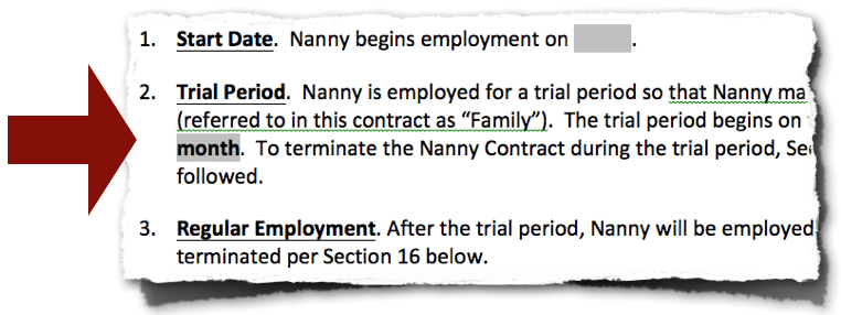 Nanny Contract - Best on the Web, Easy, Professionally Written