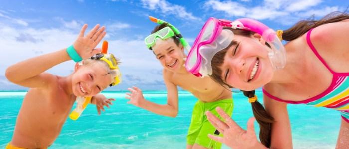 Kids Playing on Naples Beach Florida MyNaplesNanny