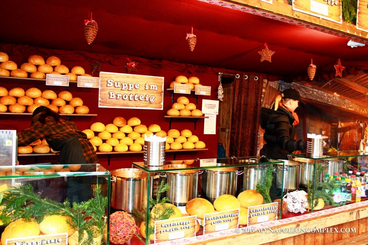 Picture of food stand in Rathaus Christmas Market, Vienna