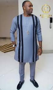 Femi Adebayo fitted native wear