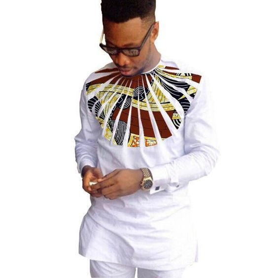 Latest Plain and Pattern Ankara Styles for Male 2020