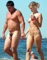 mature nude at beach