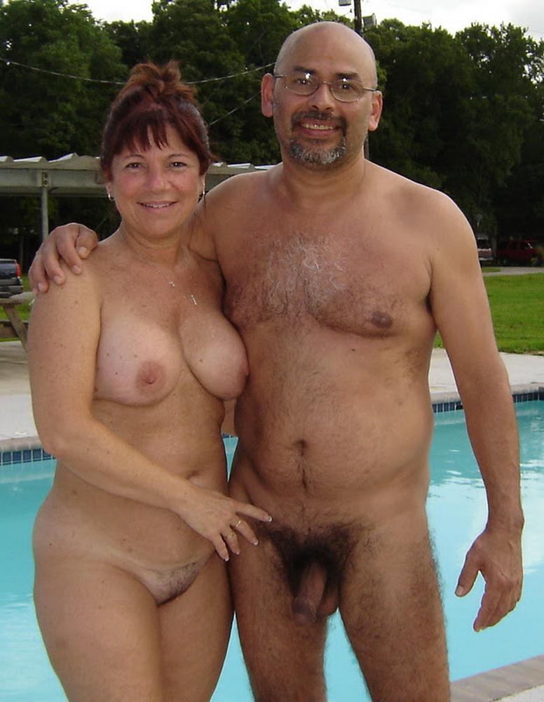 big boob nude couple