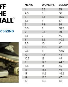Vans sneakers size chart also   come and stroll rh frankndgaard