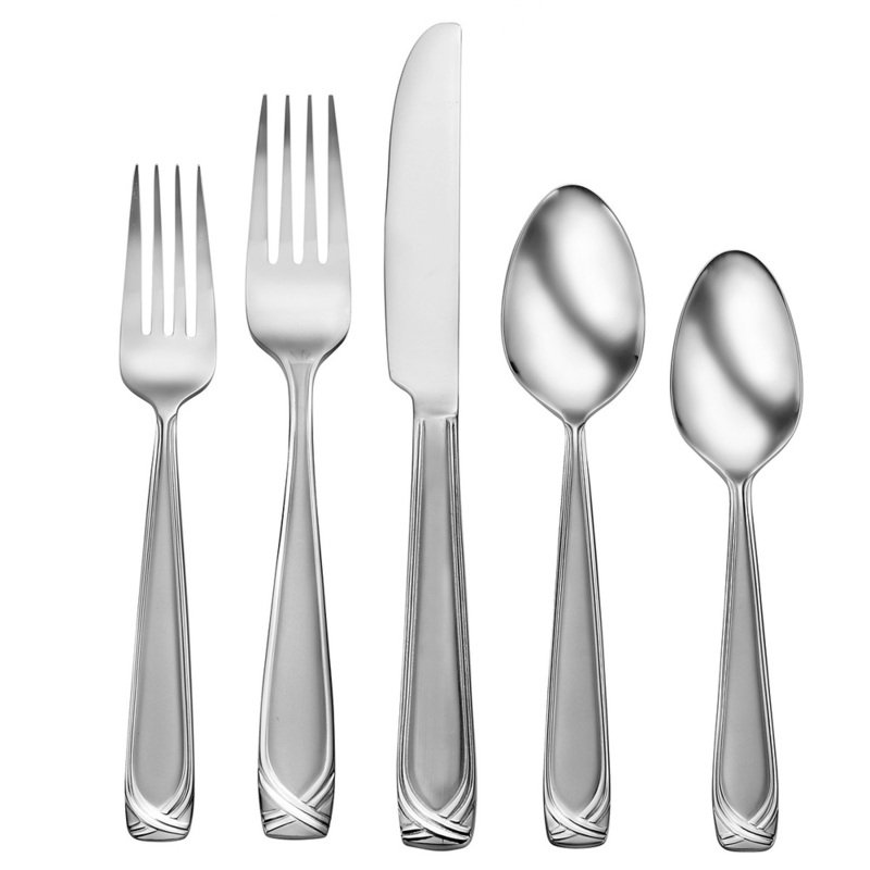 studio cuisine renley 42 piece flatware