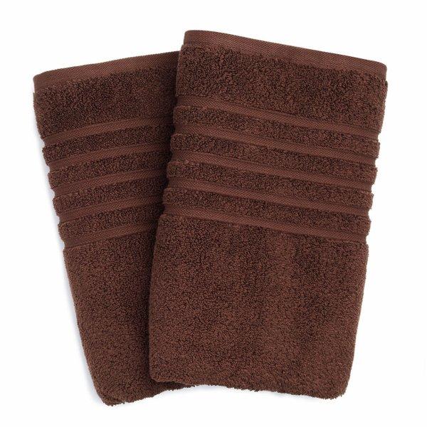Hotel Collection Microcotton Bath Towel Chocolate