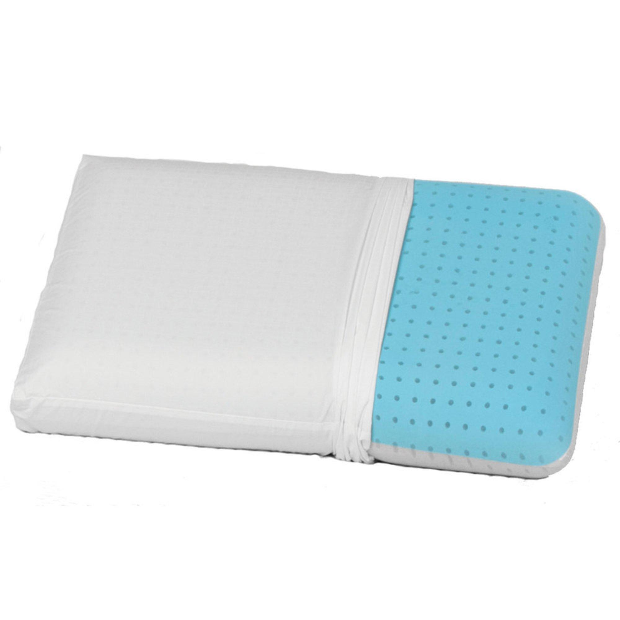Beautyrest Hydrogel Memory Foam Cooling Pillow  Bed