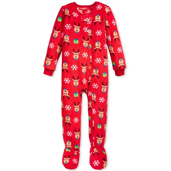 Family Pj Infant' Reindeer Onesie Women' Sleepwear & Robes Women - Navy Exchange