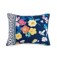 Vera Bradley Maybe Navy Quilt Sham - Standard | Comforter ...