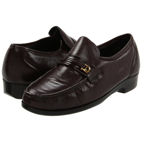 Florsheim Riva Men' Casual Slip Burgundy Shoes