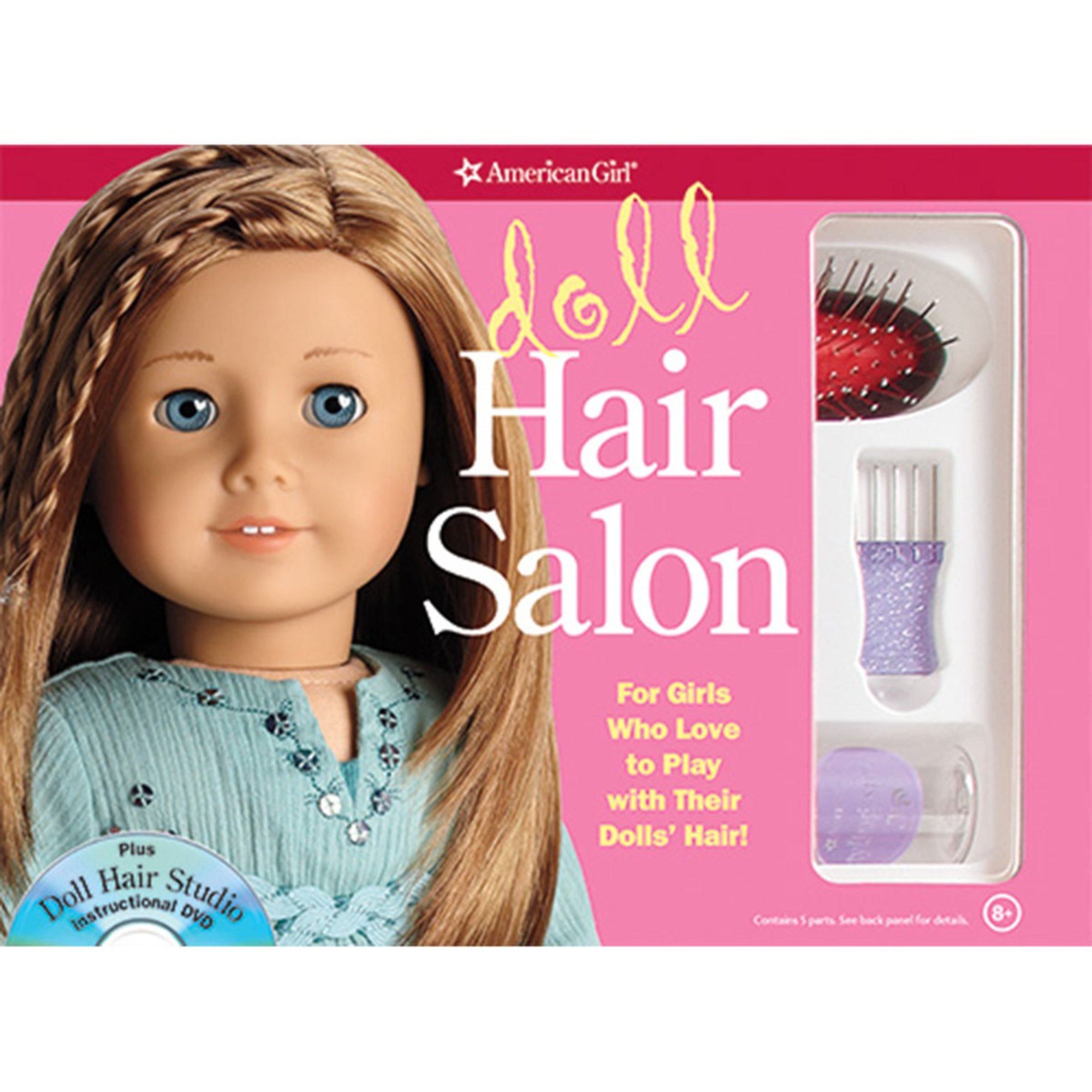 American Girl Doll Hair Salon Activity Book  Books  Kids