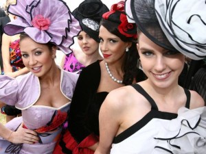 ladies, hats, fashion, pompous, melbourne, cup, horse, racing, gambling, addiction