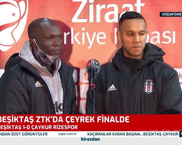 Aboubakar ve Josef'den Galatasaray yorumu!