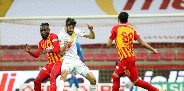 Kayserispor - Yeni Malatyaspor: 1-0   MAÇ SONUCU - ÖZET