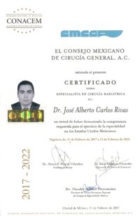 Bariatric Surgeon Certification