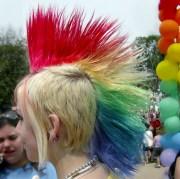 rainbow-mohawk - hair