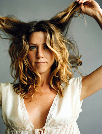 jennifer aniston loose curls my new hair