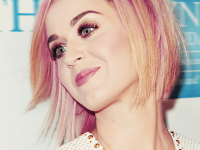 katy perry blonde bob with pink streaks my new hair