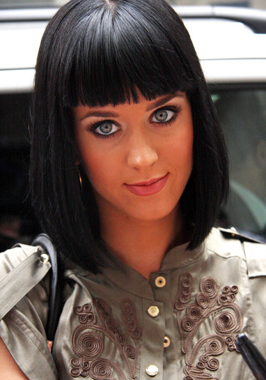 Katy Perry Sleek Bob My New Hair