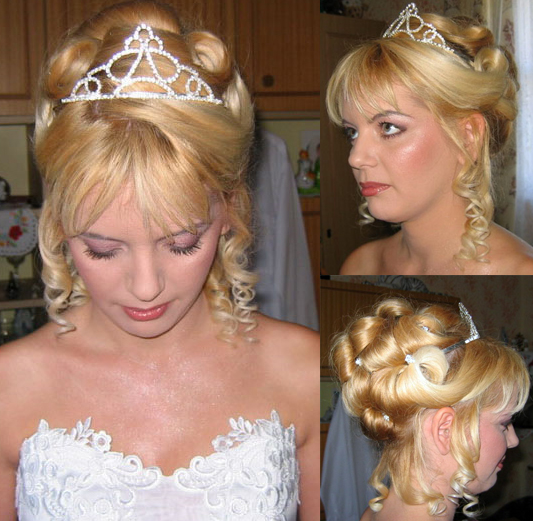 Updo Hairstyles With Tiara HAIRSTYLE GALLERY