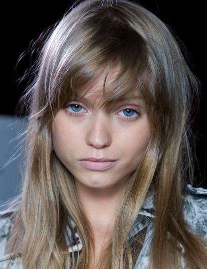 Abbey Lee Kershaw with bangs  My New Hair