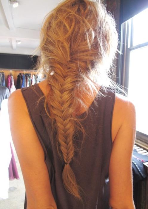 Lose Fishtail Braid  My New Hair