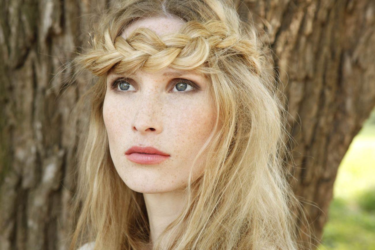 Pretty Hippie Hairstyle