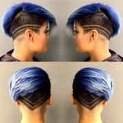 blue hair posts