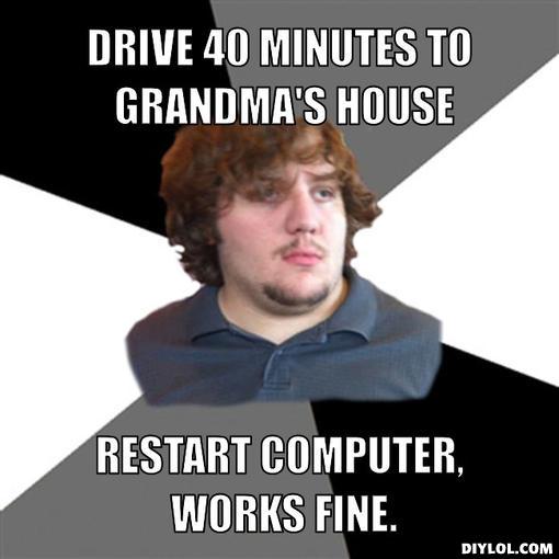 FTSG-drive to grandma