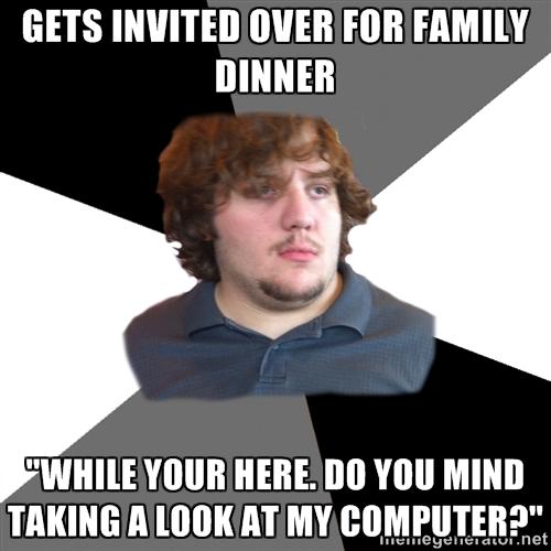 FTSG meme-invited for dinner