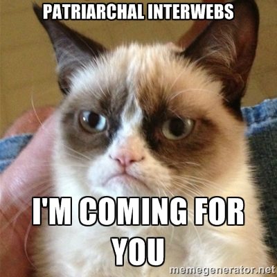 patriarchal interwebs lolcat