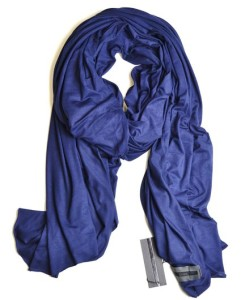 Fluxus Nomad Scarf in Navy Oprah's Faves List Unisex Scarf Shawl Wrap Cotton