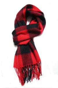 Luxuriouse Soft Wool Touch Tassel Ends Scarf