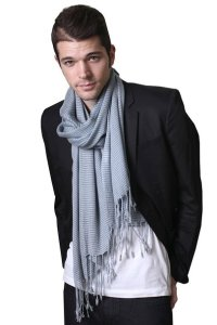 Men's Timeless Classic City Stripe Fashion Scarf (2 Colors)
