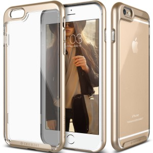 iPhone 6S Plus case, Caseology® [Skyfall Series] [Gold] DIY Customization Fusion Hybrid Cover [Shock Absorbent] for Apple iPhone 6S Plus (2015) & i
