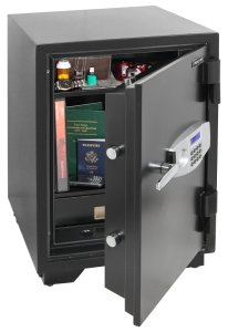 Honeywell Model 2116 Steel Fire and Security Safe 2.35 Cubic Feet