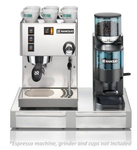 Rancilio HSD-BS50 Base for Rancilio Silvia Espresso MachineRocky Grinder