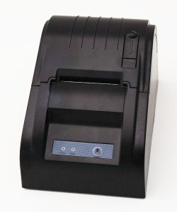 Smart&Cool® SC-5890T USB POS Printer with 58mm Thermal Paper Rolls - 90mmsec High-speed Printing (Black)
