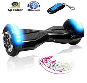 2 Wheel Self Balancing Scooter 8 Inch Skateboard Electric Hoverboard 8 Scooter Bluetooth Speaker Remote Key