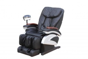 Electric Full Body Shiatsu Massage Chair Recliner wHeat Stretched Foot Rest 06C (2)