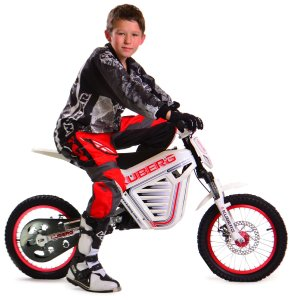 Kuberg Cross Electric Offroad Motocross Bike, 23-Inch