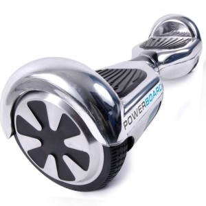 Powerboard by HOVERBOARD - 2 Wheel Self Balancing Scooter with LED Lights - Hands Free Battery Powered Electric Motor - The Perfect Pers