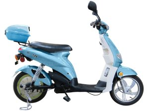 Puma Cycles Fox 700w Electric Motor Scooter- Blue- 48v 20Ah Battery, 15+MPH
