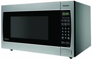 Panasonic NN-SN973S Stainless 2.2 Cu. Ft. CountertopBuilt-In Microwave with Inverter Technology