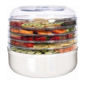Ronco FD1005WHGEN 5-Tray Electric Food Dehydrator