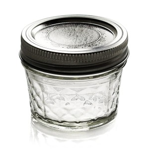 Ball Jar Crystal Jelly Jars with Lids and Bands