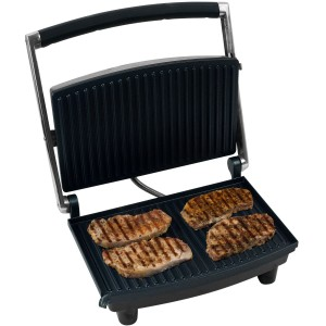 Chef Buddy Grill and Panini Press, Non Stick