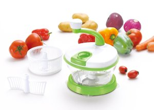 Kuuk Hand Powered Food Processor, Mixer, Spinner