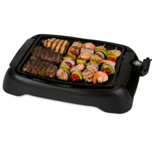 Smart Planet SIG1 Indoor Smokeless BBQ Grill, Black